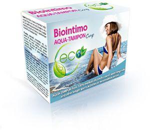 BioIntimo AQUA-TAMPON menštruačný kalíšek vel. 2 BioIntimo Corporation