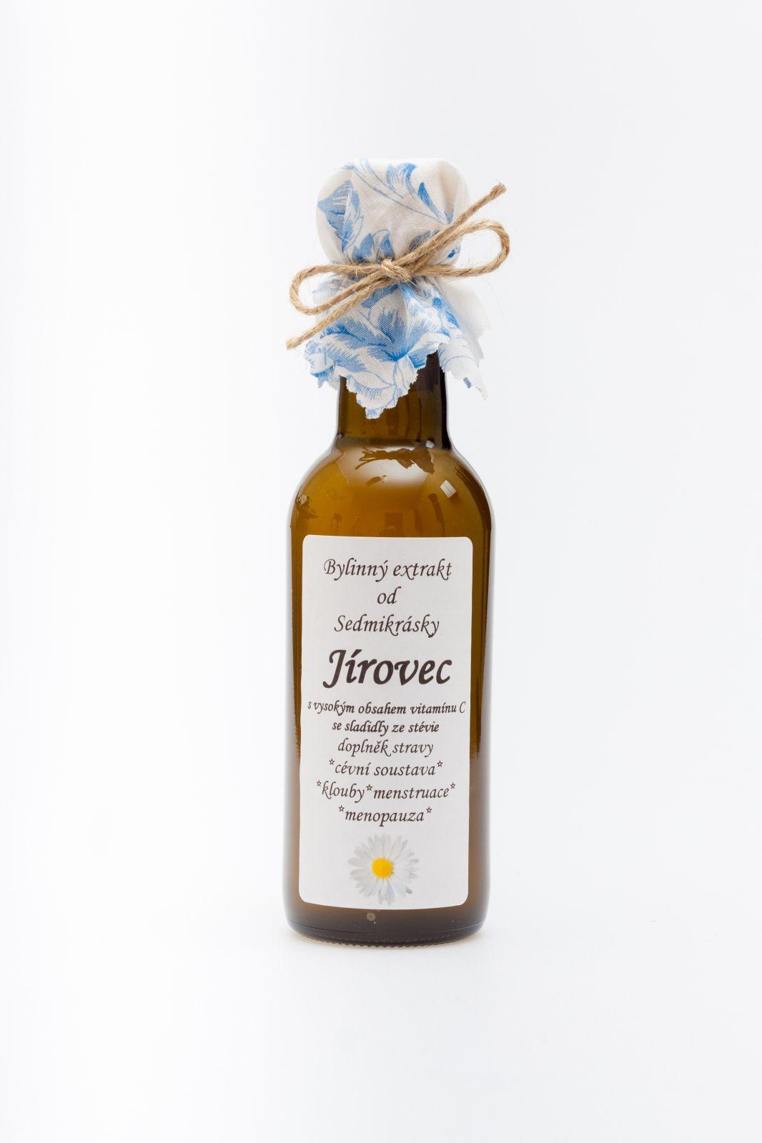 Sedmikráska bylinný extrakt Pagaštan 250ml cévní soustava, antioxidant, klouby, menstruace a menopauza doplněk stravy Rodinná farma Sedmikráska