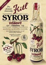 Kitl Syrob Višňový 500 ml Výborný hustý sirup vyrobený z višňové šťávy a višňové dužniny.