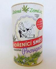Konopná koreniaca zmes PROVENCE 30g - Směs himalájské soli, konopných květů a bylinek Zelená Země s.r.o.