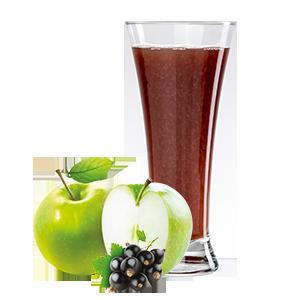 Ovocňák -Mošt 100% jablko+černý rybíz 200 ml čistě přírodní produkty z ovoce a zeleniny, bez konzervantů, sladidel, barviv, jen 100% ovoce