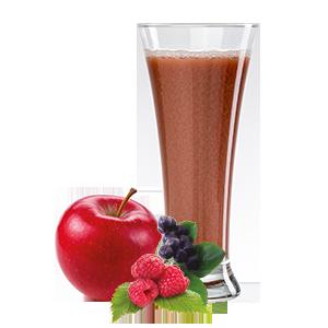 Ovoňák - Mušt 100% jablko+lesné ovocie 250ml 80% jablečná, 6,6% jahodová, 6,6% malinová a 6,6% šťáva z černé jeřabiny Ovocňák