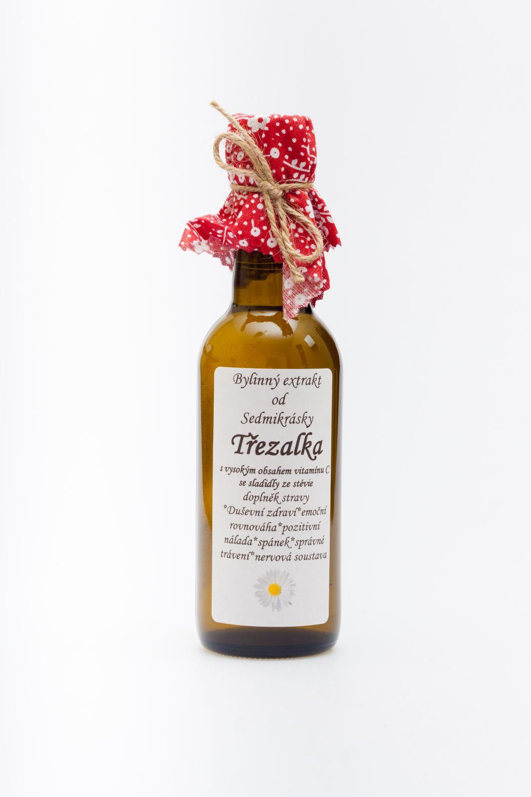 Sedmikráska bylinný extrakt Ľubovník bodkovaný 250ml duševné zdravie, emočné rovnováha, pozitívna nálada, spánok, správne trávenie, nervová sústava Rodinná farma Sedmikráska