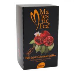 Biogena Majestic Tea Bílý čaj & Granátové jablko 20 x 2,5 g