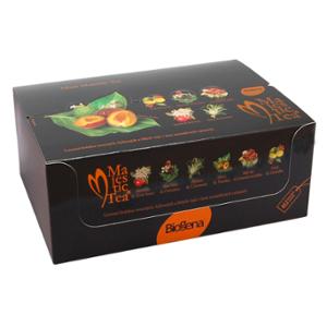 Biogena Majestic Tea Maxi 60 ks dárkové balení kolekce ovocných, bylinných a bílých čajů. Najdete v ní všechny příchutě pěkně pohromadě Biogena CB s.r.o.