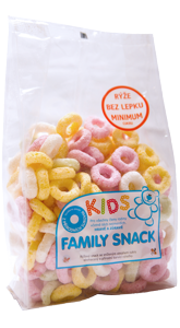 FAMILY SNACK KIDS 120 g CANDY s.r.o.