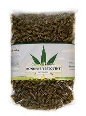 Zelená země Konopné těstoviny - fusilli 400g