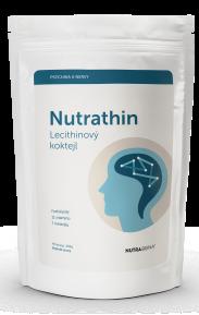 NUTRA THIN lecithinový koktejl 200gr doplněk stravy pro zlepšení duševní pohody NUTRA-BONA