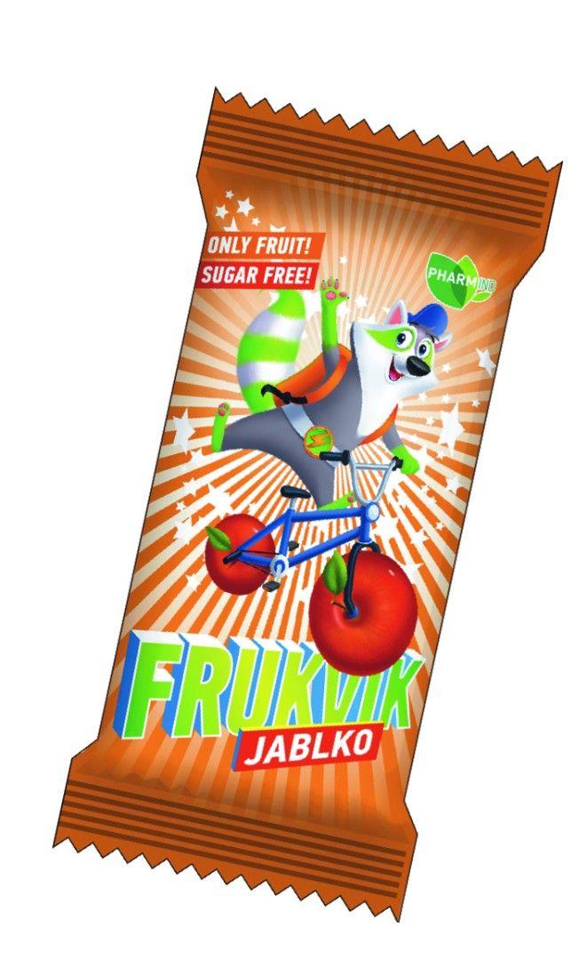 Ovocná tyčinka FRUKVIK pro děti jablko 20 g Pharmind Corporation s.r.o.
