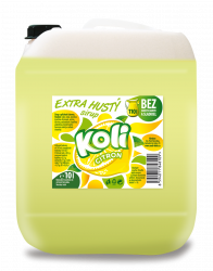 Koli sirup EXTRA hustý 10l citrón