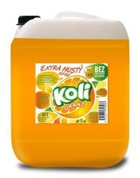 Koli sirup EXTRA hustý 10lt pomaranč