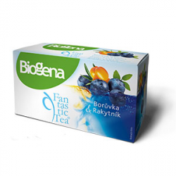 Biogena Fantastic Tea Borůvka & Rakytník 20x2,0g