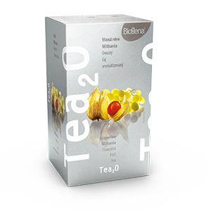 Biogena Tea2O Vinná réva & Withania 20x2,5g Ovocný čaj aromatizovaný, porcovaný. Biogena CB s.r.o.