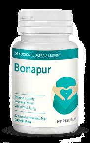 BONAPUR tobolky 62ks pre vnútornú očistu tela, optimalizácia homocysteínu NUTRA-BONA