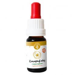 Zelená země CBD konopný olej s rozmarýnem - regenerační sérum 10 ml