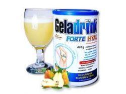 GELADRINK® FORTE HYAL - hruška, nápoj - 420 g