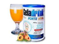 GELADRINK® FORTE HYAL - broskev, nápoj - 420 g