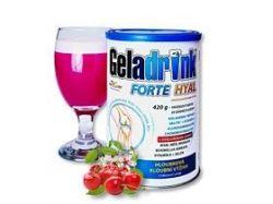 GELADRINK® FORTE HYAL - višeň, nápoj - 420 g