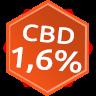 Zelená země - CBD konopná směs 1,6 %, 35 g doplněk stravy - s vyšším obsahem CBD (až 1,6%) pro posílení imunity, klidný spánek a regeneraci. Má skvělé uklidňující a relaxační účinky. Pozdní sběr Zelená Země s.r.o.