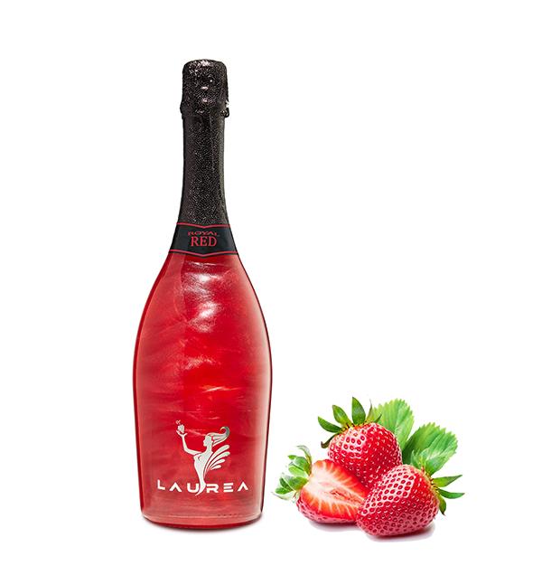 Royal Red lesné jahody Magic Royal Wine 0,75lt perlové magické víno s bublinkami Laurea Company sro