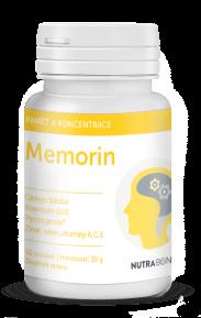 MEMORIN forte tobolky 50ks - superantioxidant s vybranými bioflavonoidmi NUTRA-BONA