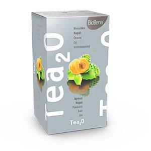 Biogena Tea Meruňka & Nopál 20x2,5g Ovocný čaj aromatizovaný, porcovaný. Biogena CB s.r.o.