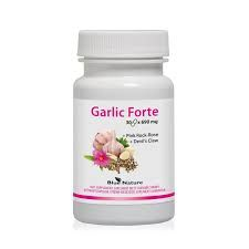 Garlic Forte kapsuly 30 x 890 mg Blue Nature
