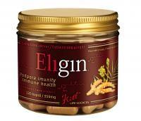 Kitl Eligin Bio 120 kapslí je extra silný zázvor na podporu imunity s vitamínem C.