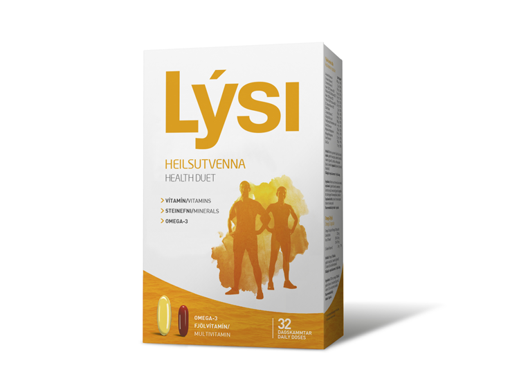 Lýsi - Omega 3 s vitamíny