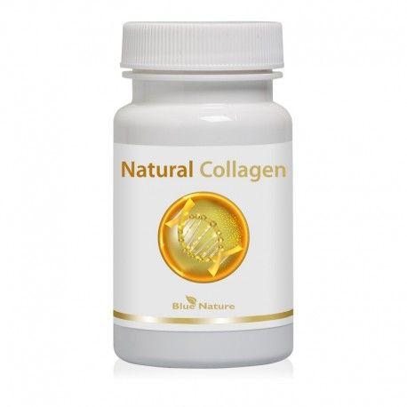 Natural Collagen: rybí kolagén + šípky + organická síra (MSM) v kapsuliach 30ks Blue Nature