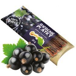 Ovocňák - Ovocné plátky - jablko černý rybíz 20g