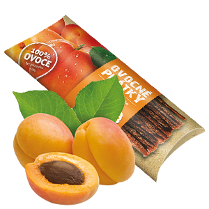 Ovocňák - Ovocné plátky - Jablko - meruňka 20g - 80% jablečná dřeň, 20% meruňková dřeň
