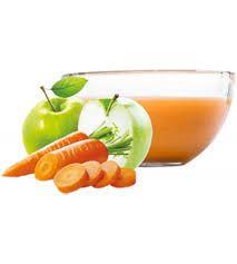 Ovocňák - Pyré jablko+mrkev 120 ml 80% jablečná a 20% mrkvová dřeň