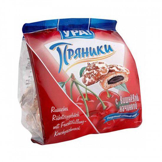 Pernik s višňovou náplní 250 g URA 250g- Pečivo z třeného těsta s ovocnou náplní.