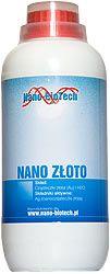 Roztok nano zlata 1 litr