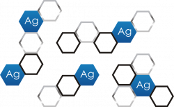Suspenze nano stříbra 200ml částice stříbra (Ag), a H 2 O, velikost částic je 6-12nm, koncentrace 250 ppm