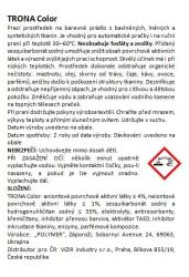 Trona prací prášok Color 2,0kg - univerzálny bezfosfátový prací prášok na farebnú bielizeň Polymer Ukrajina
