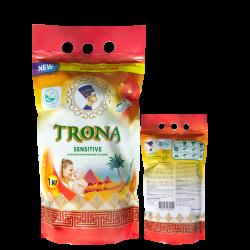 Trona prací prášok Sensitive 1,0kg - univerzálny bezfosfátový prací prášok na detskú a jemnú bielizeň Polymer Ukrajina