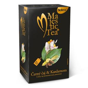 Biogena Majestic Tea Zelený čaj & Harmanček 20x1,5g aromatizovaný, porciovaný Biogena CB s.r.o.