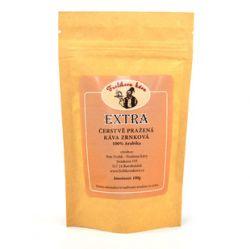 Frolíková Extra káva 100g zrnková - Jedná sa o 100% Arabicu zo Strednej Ameriky a Ázie Jan Frolík - Pražírna kávy