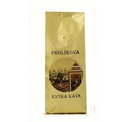 Frolíková Extra káva 1000g mltá - Jedná sa o 100% Arabicu zo Strednej Ameriky a Ázie Jan Frolík - Pražírna kávy