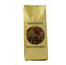 Frolíková káva Diplomat 1000g Zrnková