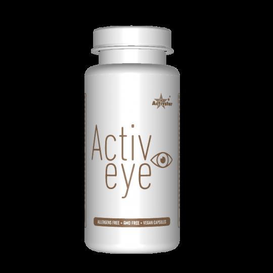 ACTIVE EYE 60 KAPSÚL výťažok zo šafranu s výhodami pre zdravie očí, dodávané vo vegetariánskych kapsliach. Activstar
