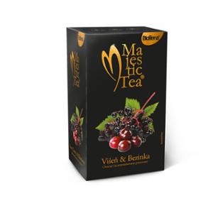Biogena Majestic Tea Višňa & Bezinka 20x2,5g - Ovocný čaj s netradičnou kombináciou višní a plodov bazy s ľahko kyslastou chuťou. Biogena CB s.r.o.