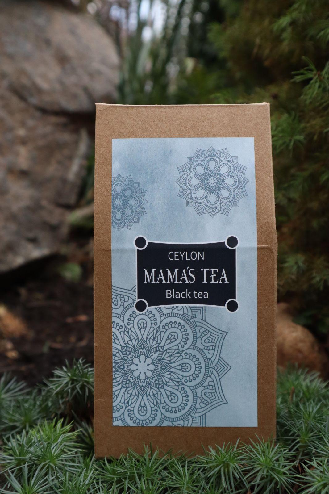 MAMA'S TEA - ČIERNY ČAJ - MAMA'S OP BLACK - 100% Cejlónsky čierny čaj 100 g. Nazbierané ručne na najlepších čajových plantáží sveta v Nuwara Eliya.