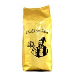 Frolíková Extra káva 250g zrnková