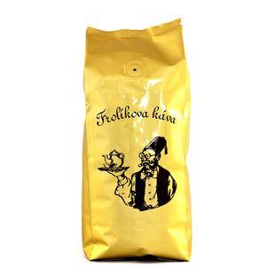 Frolíková káva Diplomat 250g zrnková Jedná sa 100% Arabicu zo Strednej, Južnej Ameriky a Ázie. Jan Frolík - Pražírna kávy